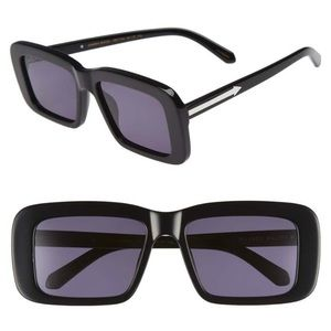 Karen walker admiral boom 57mm sunglasses NWB